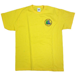 Kids valueweight Sunflower P.E T-shirt